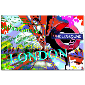 Obraz Underground London